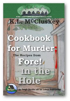 Cookbook for Murder: Recipes from Fore! In the Hole book cover.