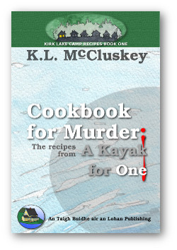 Cookbook for Murder: Recipes from A Kayak for One book cover.